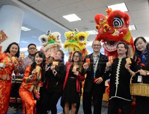 Chinese New Year's with STKF